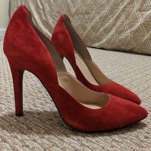 Jessica Simpson Vivienne Red Lipstick Heels